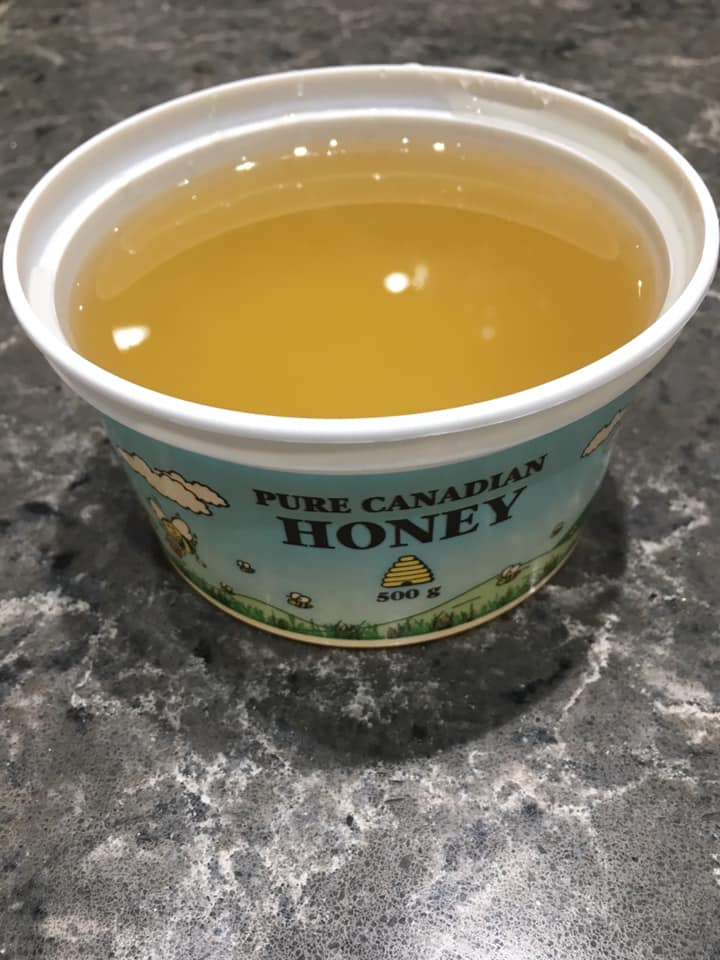 Six 1 lb Containers of Raw Honey